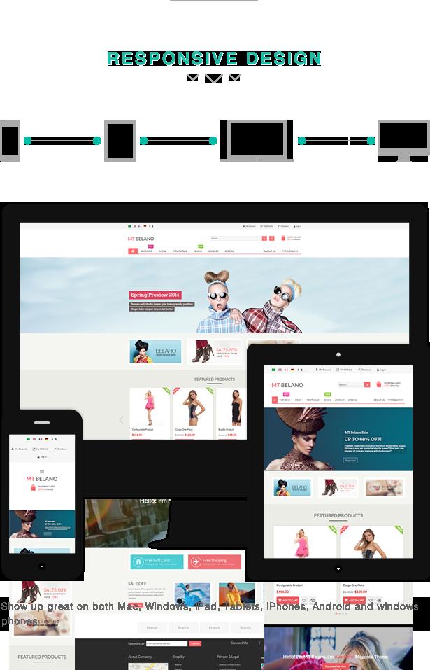 responsive ecommerce design in egypt