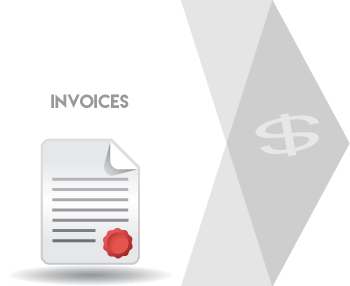 CRM software Invoices system