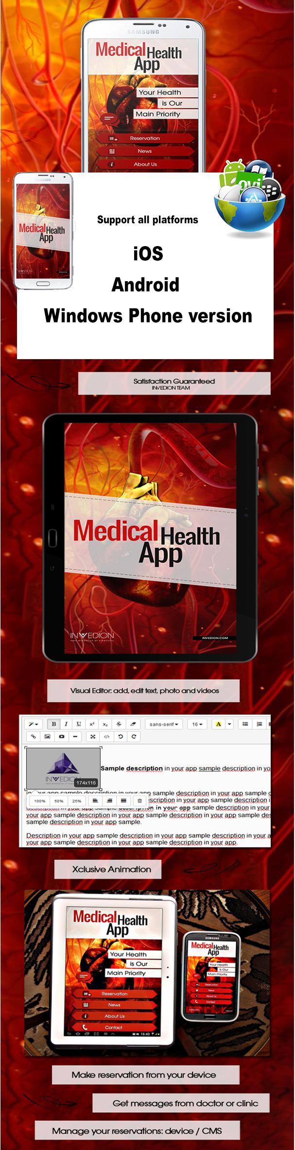 medical mobile application egypt Cairo Web Design